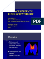 Advances in Dental