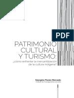 Patrimonio cultural y Turismo ¿Cómo enfrentar la mercantilización de la cultura indígena?