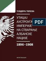 Teodora Toleva Uticaj AU Imperije Na Stvaranje Albanske Nacije 1896_1908