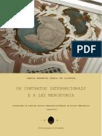 Dissertação-Camila-Lex Mercatoria e contratos internacionais
