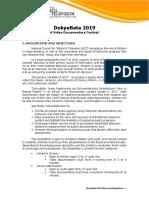 3rd DokyuBata Video Documentary Contest_Mechanics