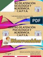 CENTRO DE ATENCIÓN PSICOLÓGICA Y ACADEMICA  C