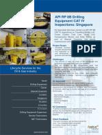 API RP 8B Drilling Equipment CAT IV Inspections