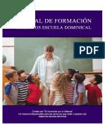 CURSO DE FORMACIÓN maestros escuela dominical