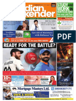 The Indian Weekender, Friday, January 17, 2020 Volume 11 Issue 42