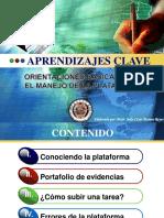 ORIENTACIONES BASICAS PARA EL MANEJO DE LA PLATAFORMA APRENDIZAJES CLAVE