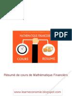 resume math fin