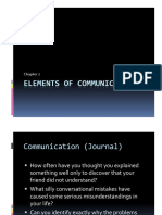Chapter 2- Elements of Communication