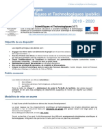 Cahier des charges AST 2019-2020