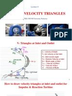 Velocity Triangles