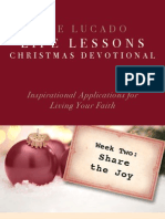 Lucado Life Lessons Christmas Devotional - Week 2