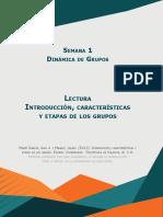 Características  y etapas de los grupos
