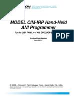 CIM-IRP Manual