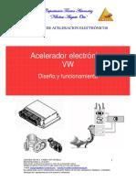 VW Acelerador electrónico