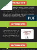 LEY GENERAL DE CONVENIOS COLECTIVOS Y LA NEGOCIACIÓN - LEGISLACION PPT