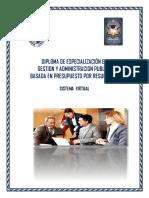 DIPLOMA DE GESTIÓN PUBLICA 2019