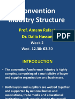 Convention Industry Structure