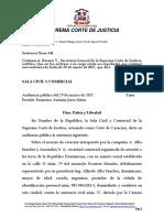 reporte1997-150 La prórroga de competencia es la figura procesal que permite al juez conocer un proceso civil que en razón del territorio originalmente no era competente