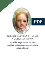 ROSARIO Y NOVENA EN HONOR A LA DIVINA INFANTA