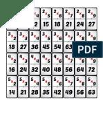 Dominó de multiplicaciones (1)