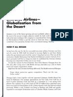Lampiran UAS M. Pemasaran Int - Emirates Airlines - Globalization from the Desert