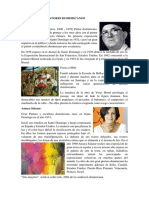 Biografia de Artistas dominicanos