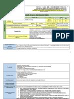 Secuencia Didáctica de Tecnologías de la Información y comunicaciones
