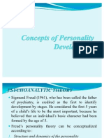 Concepts of Personality Development 4