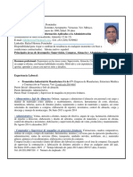 Cv-jose Rafael Herrera Fernandez