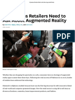 Questions Retailers Need to Ask About Augmented Reality
