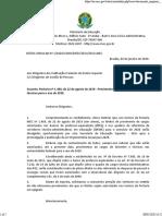 Ofício MEC - Contratação de professores