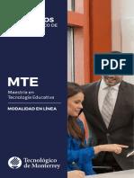 MaestrÃ_a en TecnologÃ_a Educativa