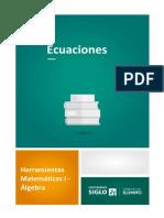 1 Ecuaciones