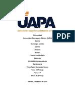 Sociología Jurídica tarea 7