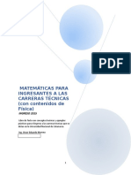 MATEMÁTICAS PARA INGRESANTES FINAL