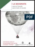 Antoine Bailly, Alejandro Salazar y Andrés Núñez - Viaje por la Geografía. Una geografía para el mundo. Una geografía para todo el mundo