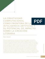 Pablo Gervais - La creatividad computacional