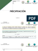 Precipitacion II