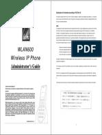 WLAN600 Admin Guide_v2.2