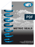 Metric Seals