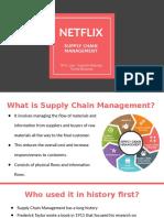 NETFLIX Supply Chain Management