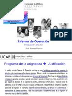 Clase 1 - Introduccion al curso y a los SO- Generaciones_2019_25