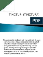 TINGTUR  (TINCTURA)