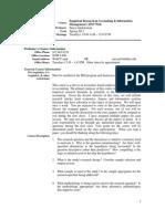 UT Dallas Syllabus for aim7343.001.11s taught by Surya Janakiraman (suryaj)