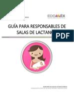 GUÍA PARA RESPONSABLES DE SALAS DE LACTANCIA
