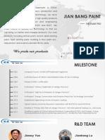 Jianbang Coating Company Profile