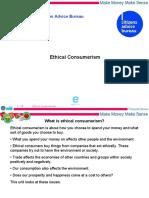 Ethical Consumerism (P)
