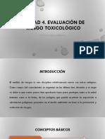 UNIDAD 4. EVALUACION DE LA EXPOSICION