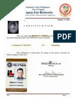 MELJUN CORTES TCU Evaluation Faculty TCU Taguig City 1st Semester 2018 2019