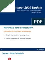 Presentation - Connect 2020 01-16-2020